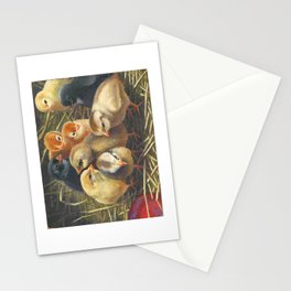 baby chicks - by phil art guy Stationery Cards