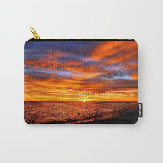 Spectacular Sunrise on the Saint-Lawrence Carry-All Pouch