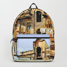 Building of Aleppo Backpack