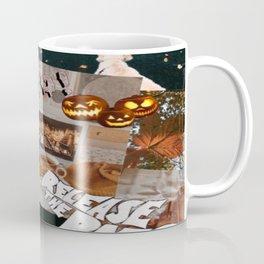 orange halloween wallpaper Coffee Mug