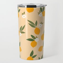 Cute Oranges Travel Mug