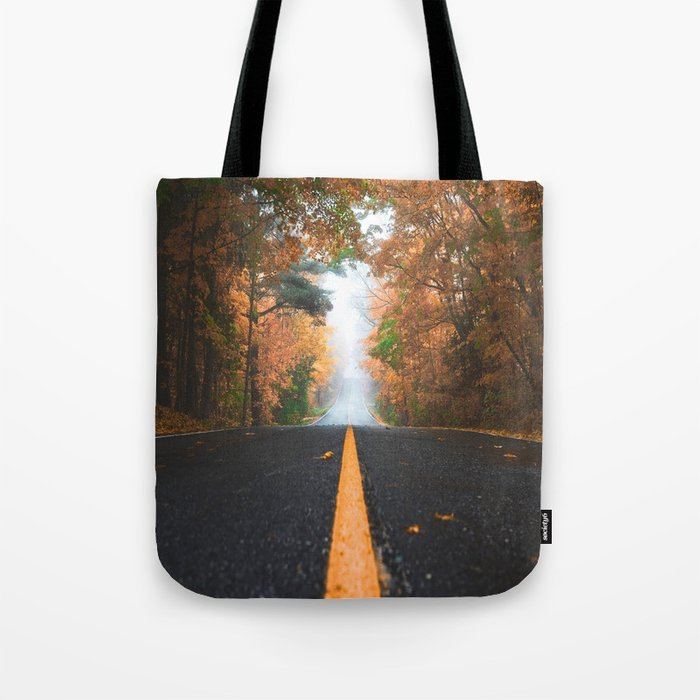 Road sweet road Tote Bag