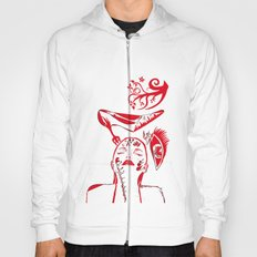 abstract woman Hoody