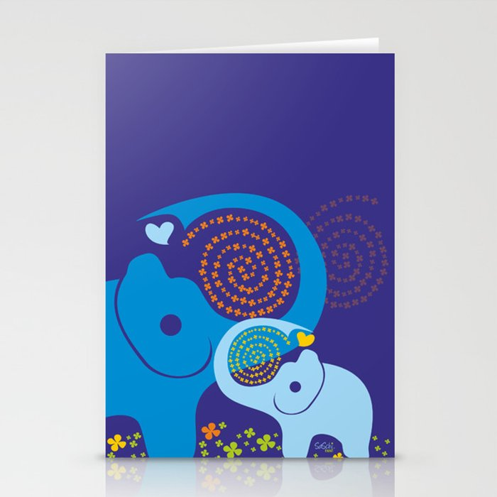Child of good Fortune Stationery Cards