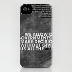 The Facts Slim Case iPhone (4, 4s)