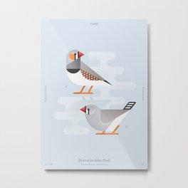 Australian Zebra Finch (dsc) Metal Print