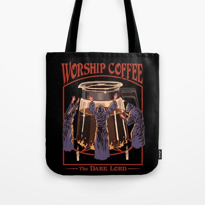 Worship Coffee Tote Bag