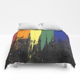 Rainbow Paint Comforters