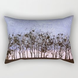 Night Moose Rectangular Pillow