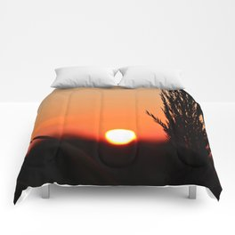 Through to the Setting Sun Comforters