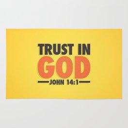 Trust in God Rug