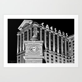 Caesars Atlantic City Art Print