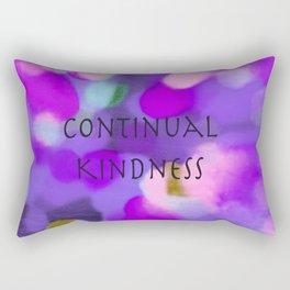 Continual Kindness Rectangular Pillow