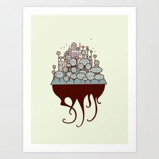 Treecity Art Print