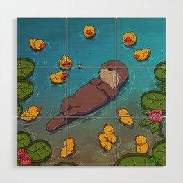 Otter Wood Wall Art