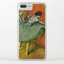 Edgar Degas - Dancers at The Bar Clear iPhone Case