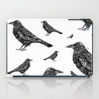 raven iPad Cases featuring Raven by Ejaculesc