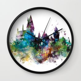 Hogwarts 2 Wall Clock