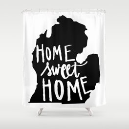The Mitten - Home Sweet Home! Shower Curtain