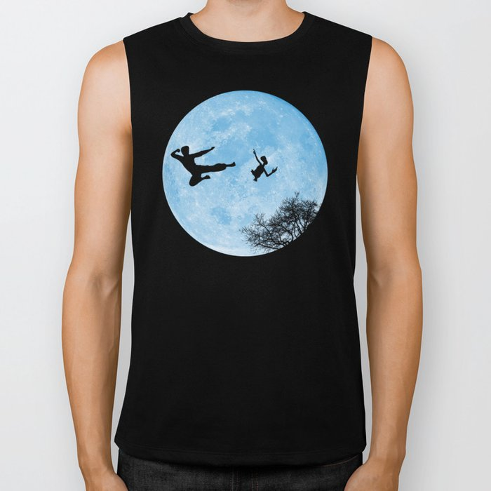 Go Big or Phone Home Biker Tank