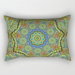 Water Lotus Rectangular Pillow
