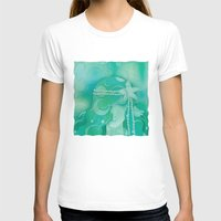 mermaid T-shirts featuring Ocean Queen by Graphic Tabby