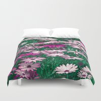 be happy Duvet Covers featuring Happy by Loredana