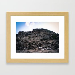 Pinecrest Rock Framed Art Print