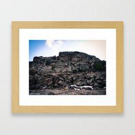 Pinecrest Rock Framed Art Print