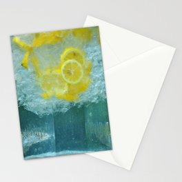 Lemon Water Stationery Cards