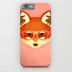 Hipster Fox: Rose Slim Case iPhone 6s