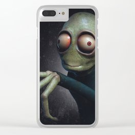 Salad Fingers Clear iPhone Case