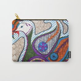 Mehndi Peacock Carry-All Pouch