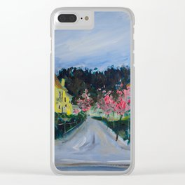 Freiburg in Spring Clear iPhone Case