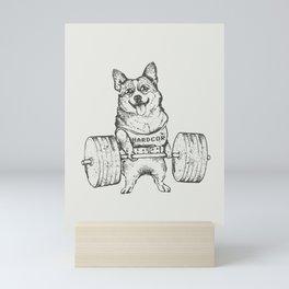 Corgi Lift Mini Art Print