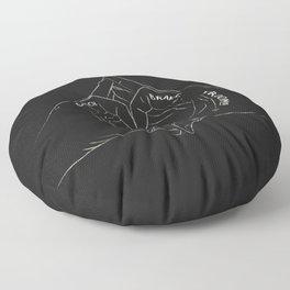 CLUTCH BRAKE VROOM Floor Pillow