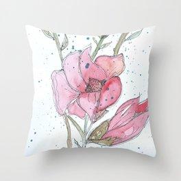 Magnolia #3 Throw Pillow