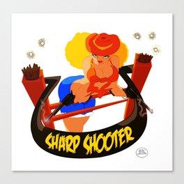 Sharp Shooter Canvas Print