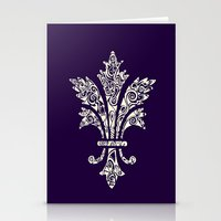 royal Stationery Cards featuring Royal by Candace Fowler Ink&Co.