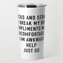 Compliments Travel Mug