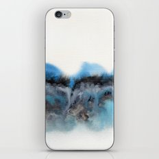 Watercolor abstract landscape 11 iPhone & iPod Skin