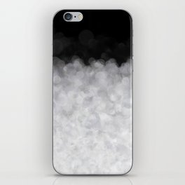 Snow Clouds in the Dark - Abstract iPhone Skin