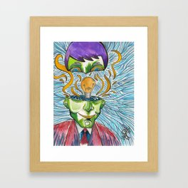 Idea Man  Framed Art Print
