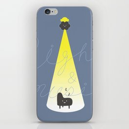 Light & Music iPhone Skin