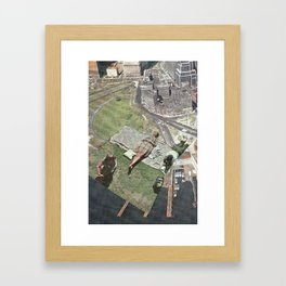 Need more space? Framed Art Print