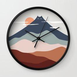 Cat Landscape 21 Wall Clock
