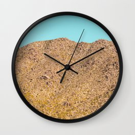 Landscape Joshua Tree 7342 Wall Clock