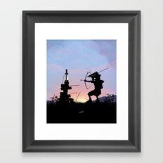 Green Arrow Kid Framed Art Print