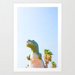 Cabazon Dino 1 Art Print