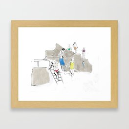 The Forty Foot Framed Art Print